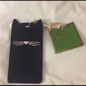 Kate Spade 'Why Hello Thera' ID Card Clip Holder